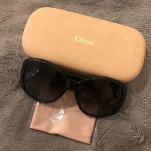 Chloe Accessories - Chloe Oversized Sunglasses